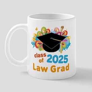 2025 Law School Grad Class Mug