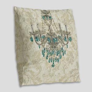 modern chandelier damask fashion paris art Burlap