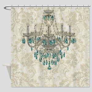 modern chandelier damask fashion paris art Shower