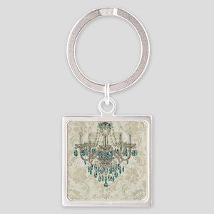 modern chandelier damask fashion paris art Keychai