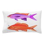 Yellowstriped Fairy basslet Anthias Couple Pillow