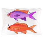 Yellowstriped Fairy basslet Anthias Couple Pillow
