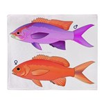Yellowstriped Fairy basslet Anthias Couple Throw B