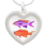 Yellowstriped Fairy basslet Anthias Couple Necklac