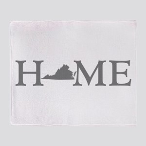 Virginia Home Throw Blanket