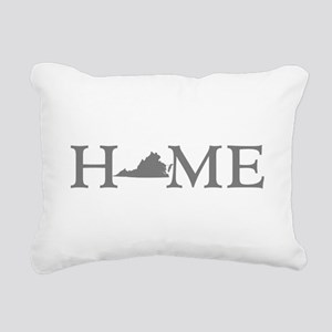 Virginia Home Rectangular Canvas Pillow