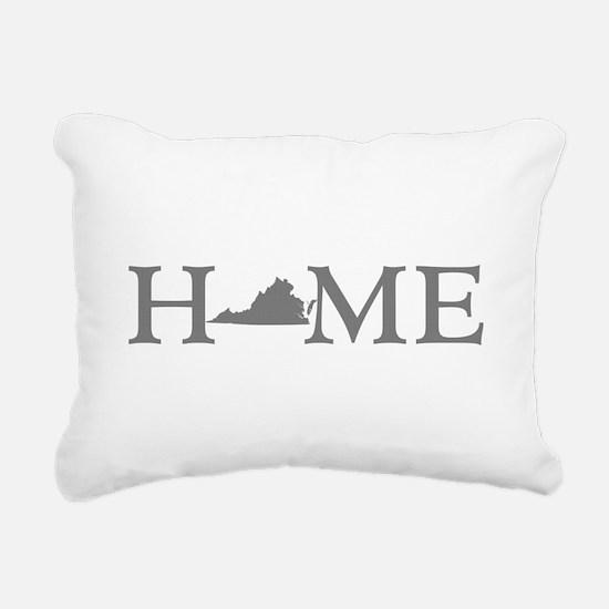 Virginia Home Rectangular Canvas Pillow
