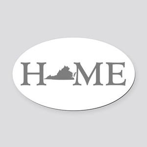 Virginia Home Oval Car Magnet