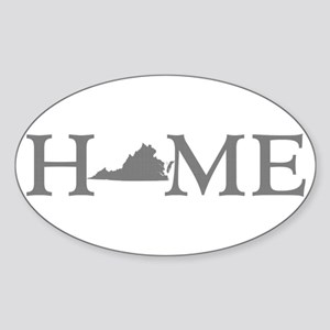 Virginia Home Sticker (Oval)