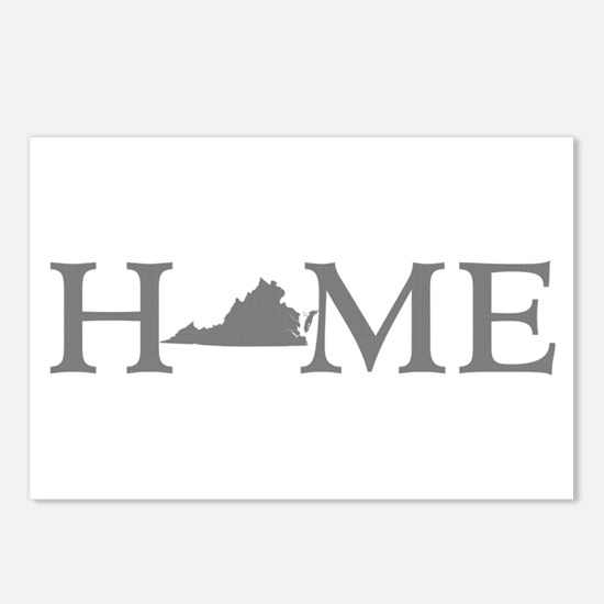 Virginia Home Postcards (Package of 8)