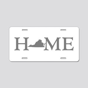 Virginia Home Aluminum License Plate