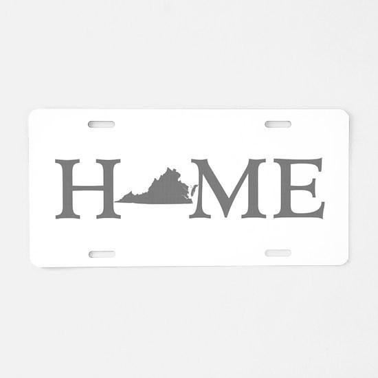 Virginia Home Aluminum License Plate
