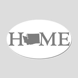 Washington Home 20x12 Oval Wall Decal