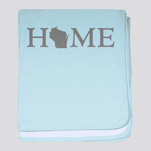 Wisconsin Home baby blanket