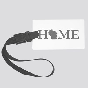 Wisconsin Home Large Luggage Tag