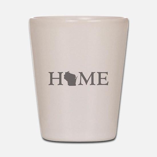 Wisconsin Home Shot Glass