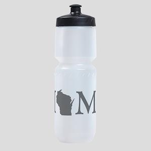 Wisconsin Home Sports Bottle