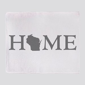 Wisconsin Home Throw Blanket