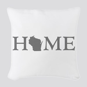 Wisconsin Home Woven Throw Pillow