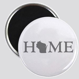 Wisconsin Home Magnet