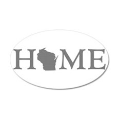 Wisconsin Home Wall Decal
