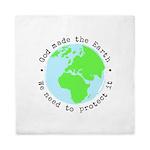 Protect God's Earth Queen Duvet