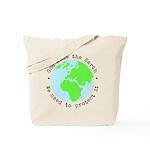 Protect God's Earth Tote Bag
