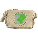 Protect God's Earth Messenger Bag