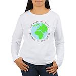 Protect God's Earth Women's Long Sleeve T-Shirt