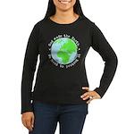 Protect God's Ear Women's Long Sleeve Dark T-Shirt