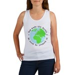 Protect God's Earth Women's Tank Top