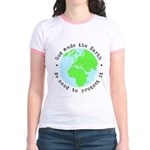 Protect God's Earth Jr. Ringer T-Shirt