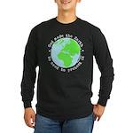 Protect God's Earth Long Sleeve Dark T-Shirt