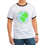 Protect God's Earth Ringer T