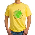 Protect God's Earth Yellow T-Shirt