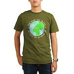 Protect God's Earth Organic Men's T-Shirt (dark)
