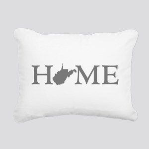West Virginia Rectangular Canvas Pillow