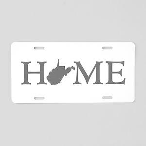 West Virginia Aluminum License Plate