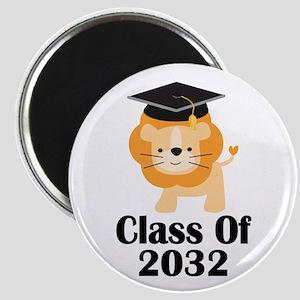 Class of 2032 Graduate (lion) Magnet