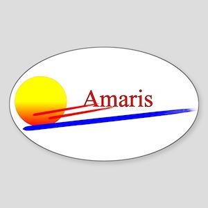 Amaris Oval Sticker