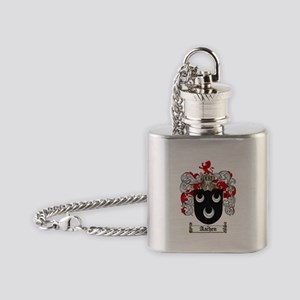 Aachen coat of arms / family crest Flask Necklace