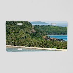 Yasawa Islands, Fiji Aluminum License Plate
