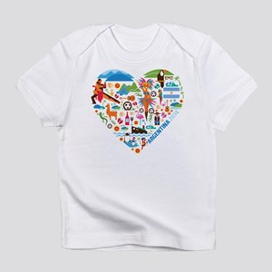 Argentina World Cup 2014 Heart Infant T-Shirt
