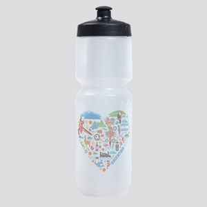 Argentina World Cup 2014 Heart Sports Bottle