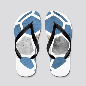 Argentina World Cup 2014 Flip Flops