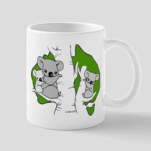 Koala Bears (green) Mug