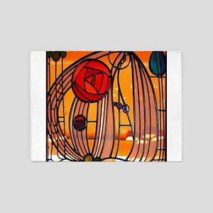 Charles Rennie Mackintosh Stained Glass 5'x7'Area