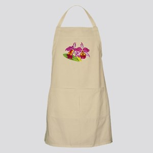 Pink Cattleya Orchid Apron