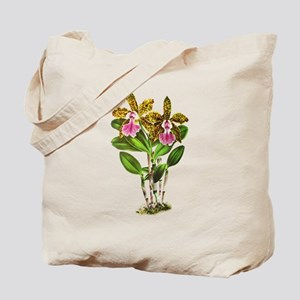 Tropical Cattleya Orchid by Lindenia Tote Bag