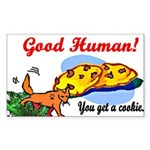 Good Human Aimless Coyote sticker